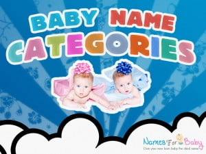 Baby name categories, boy name category, girl name category