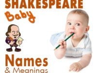 Shakespeare Baby Names