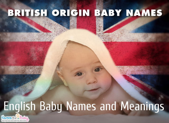 British names, British baby names for baby