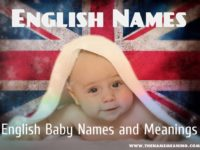 English Names – A safe way to choose English Baby names
