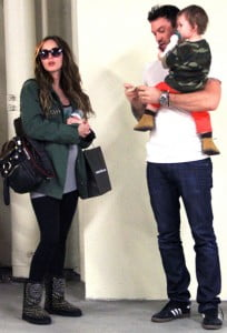 Megan Fox - Brian Austin Green and Noah