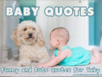 Baby Quotes – Funny and Cute Quotes for Baby