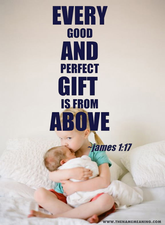 Quote-Every Good And Perfect Gift Is From Above