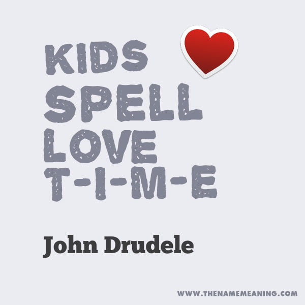 Quote - Kids Spell Love T-I-M-E