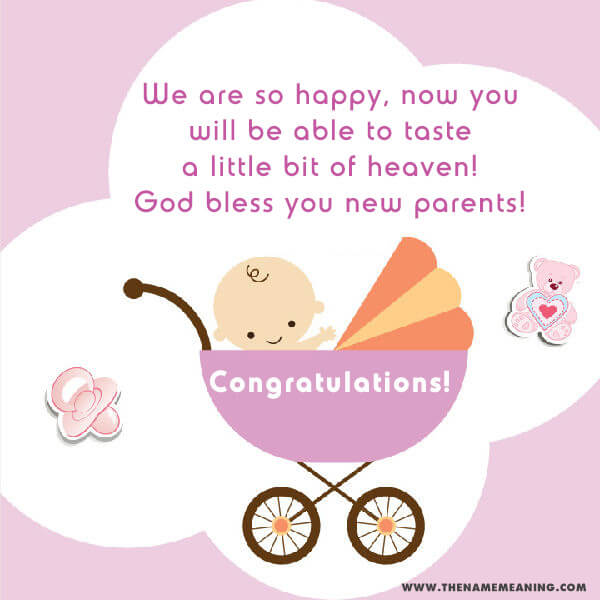 New born baby wishes and congratulations messages new born wishes for girl m4hsunfo