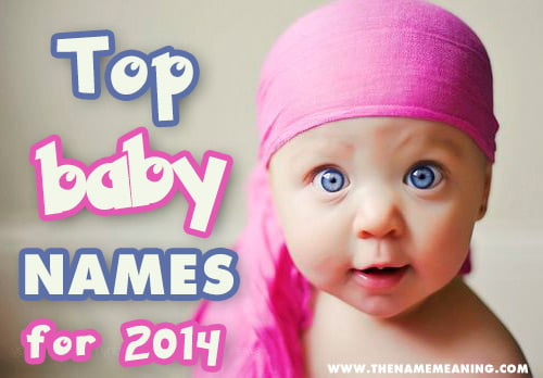top baby names 2014