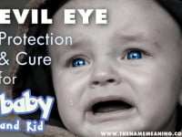 Evil Eye Curse Protection and Cure for Baby and Kid