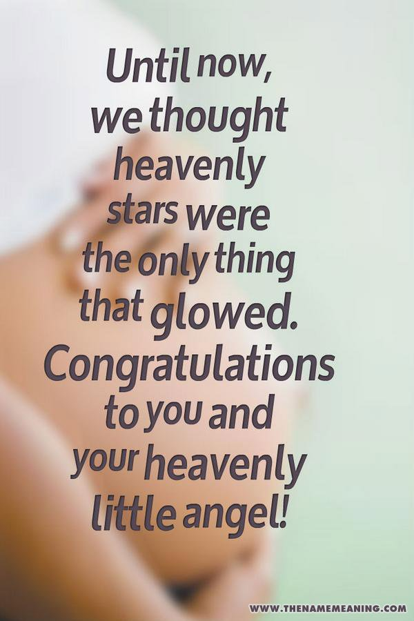 Pregnancy Congratulations Messages And Wishes