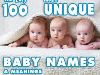100 Most Unique Baby Names of 2019 – Choose your favorite