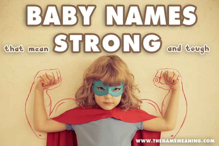 Names that mean strong