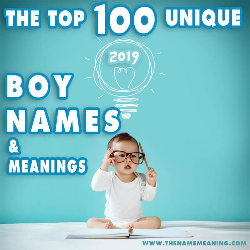 Unique Boy Names 2019