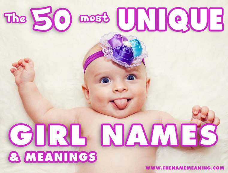 unique girl names 2016