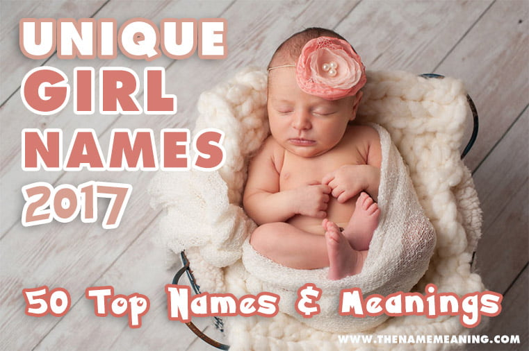Unique Girl Names 2017