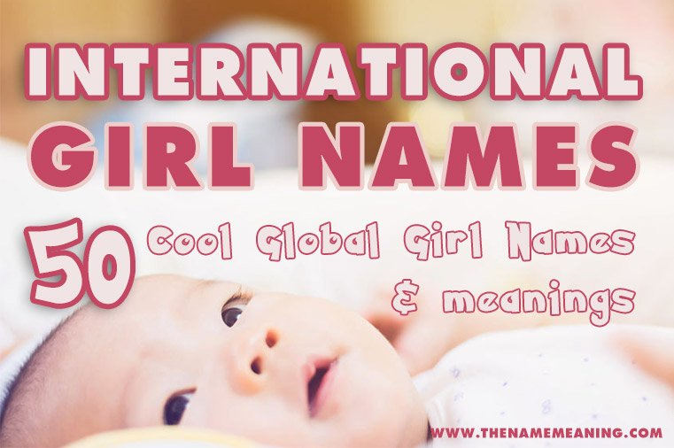 International girl names